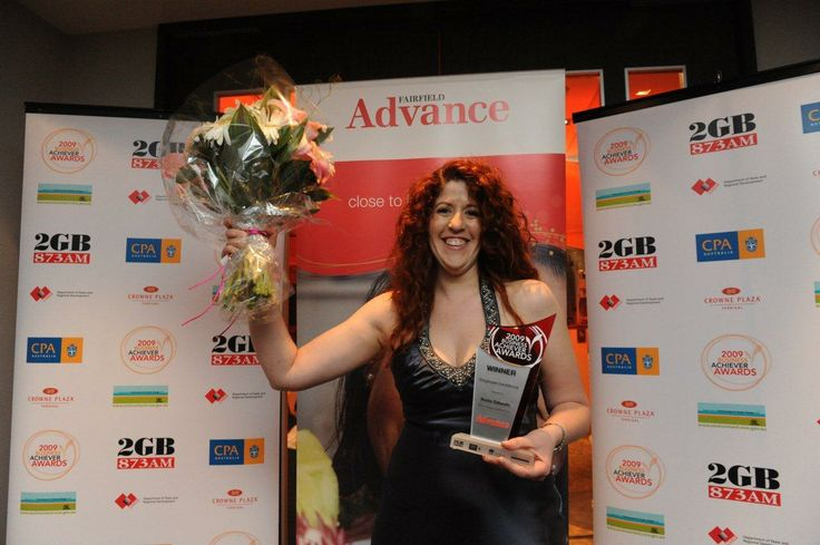 Employee of the year awards to Analia in 2009