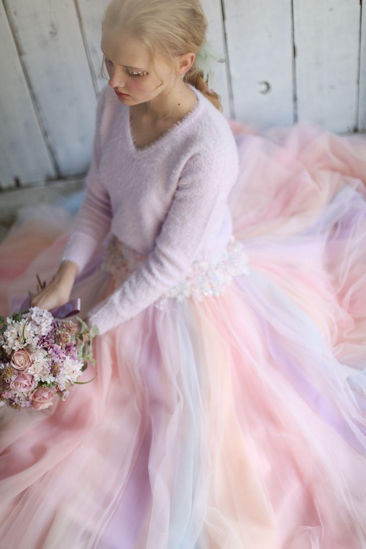 AYUMI BRIDAL COLOR DRESS RAINBOW カラードレス レインボー