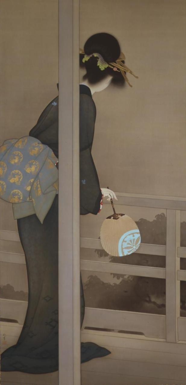 上村松園 Syouen Uemura『待月』(たいげつ)京都市美術館蔵