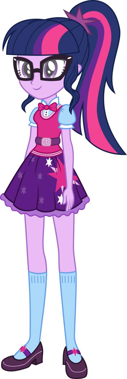 Twilight Sparkle (Sci-Twi) EG New Oufit by kingdark0001   Equestria girls   Pinterest   Twilight ...