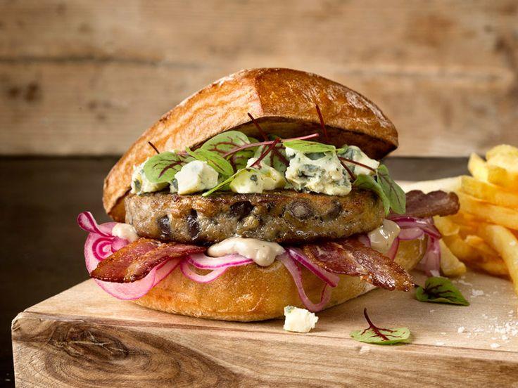 Burgish Bacon & Blue Cheese