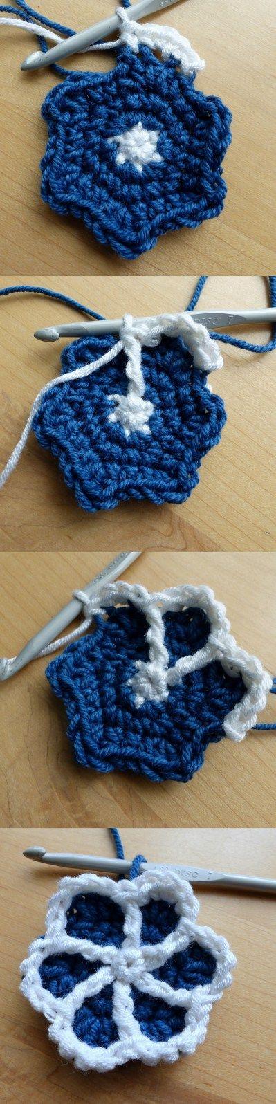Moroccan Hexagon Motif Round 5 - Free Crochet Pattern by Make My Day Creative