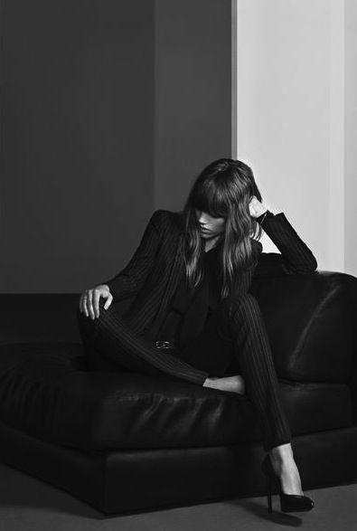 Yves Saint Laurent, black smoking