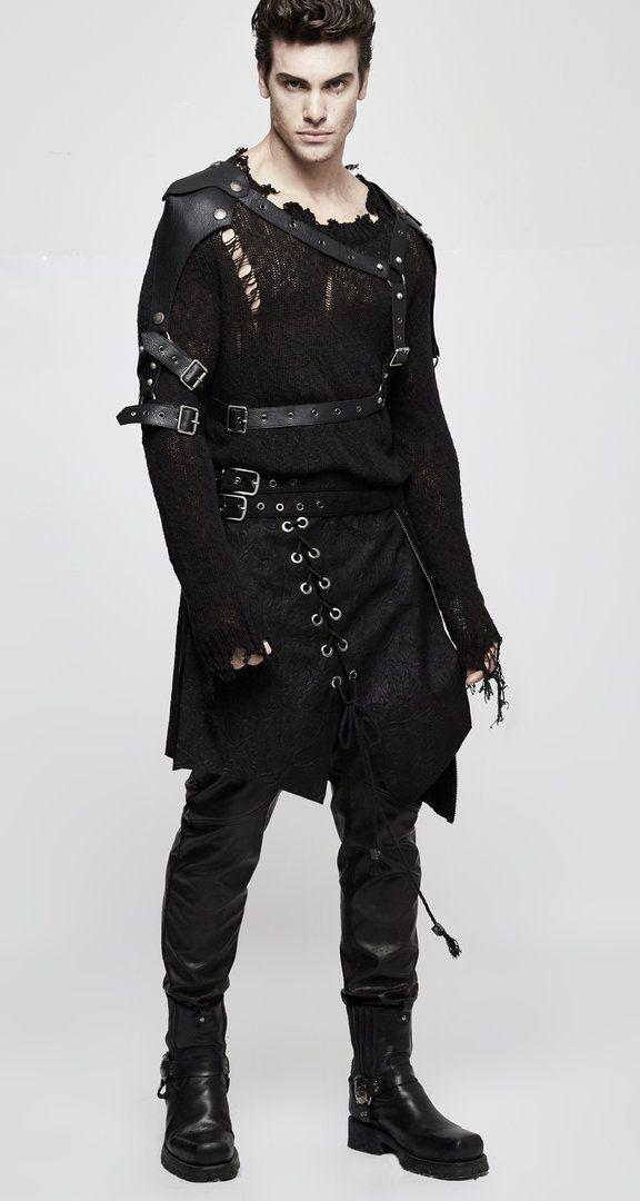 Pin On Costume Black Clad