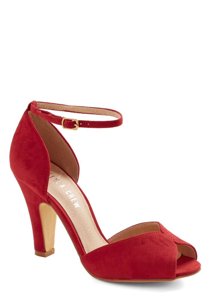 Fine Dining Heel in Rouge, #ModCloth