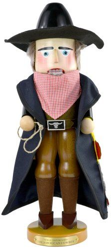 Steinbach World Costume Series American Cowboy Nutcracker * Click on the image for additional details.