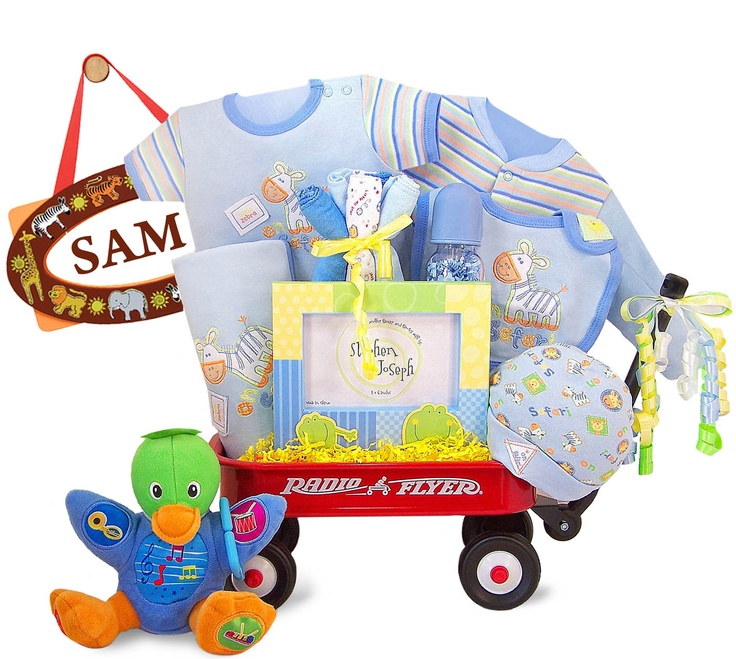 79 best baby shower gift baskets images on pinterest baby presents personalized safari expedition radio flyer baby wagon free shipping negle Image collections