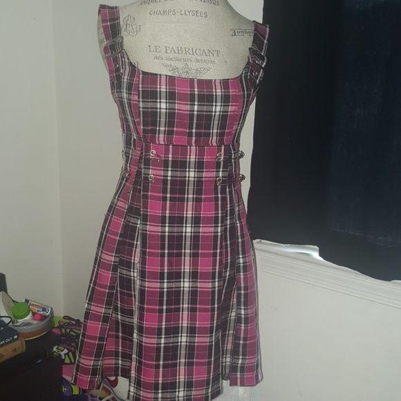 LIP SERVICE Punk & Disorderly short dress #46-100
