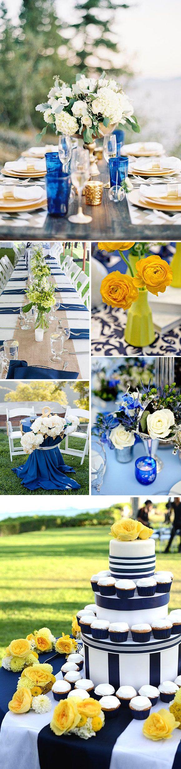 Decoración de bodas y eventos en azul – un color muy chic!