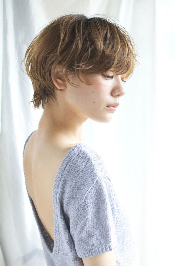 石川 瑠利子さんのヘアカタログ | 大人かわいい,外国人風,アッシュ,エンジェル顔,ショートヘア | 2016.06.03 00.42 - HAIR