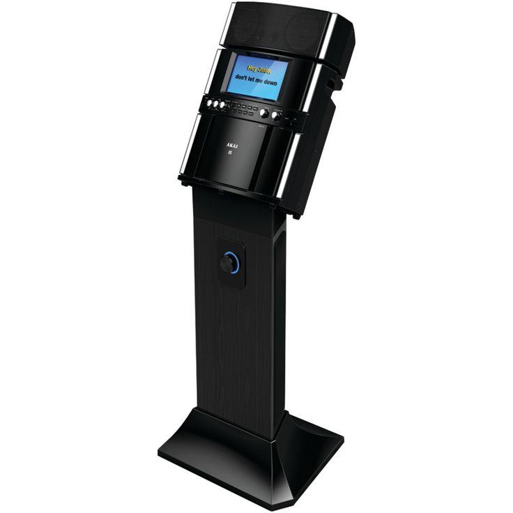 Akai Professional Karaoke System With Speaker Pedestal