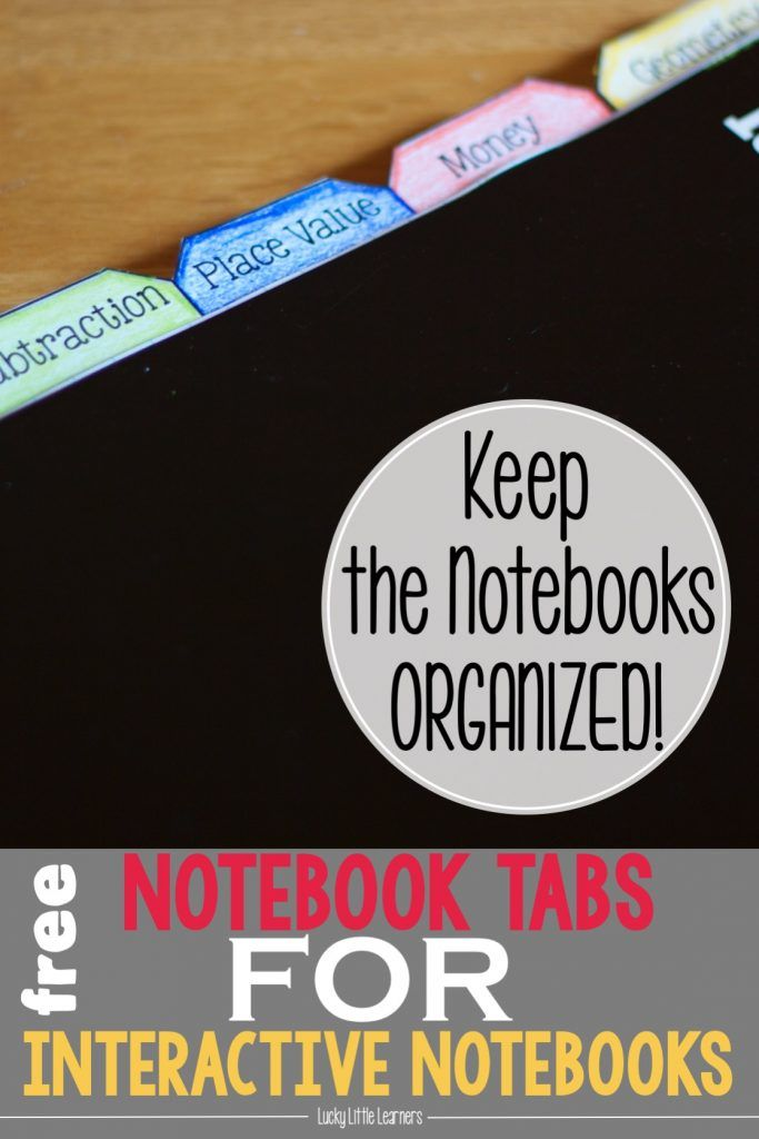 Keep your students and their interactive notebooks organized with these free resources! This post has FREE table of contents templates, notebook tabs, and tub labels. These will definitely help keep interactive notebooks organized and efficient.