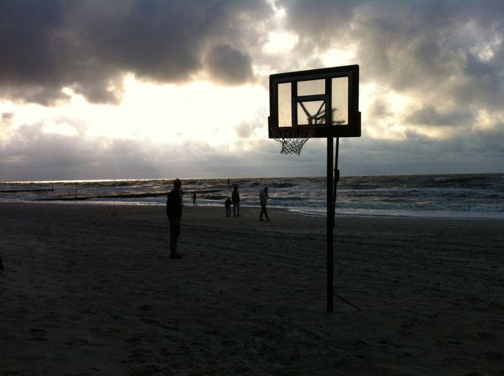 Basketballkorb Ostseestrand Polen