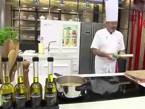 EN REMOJO DE LA NOCHE ANTERIOR SACAR EL AGUA Y ...VER  Karlos Arguiñano en tu cocina   Ensalada de garbanzos y rúcula
