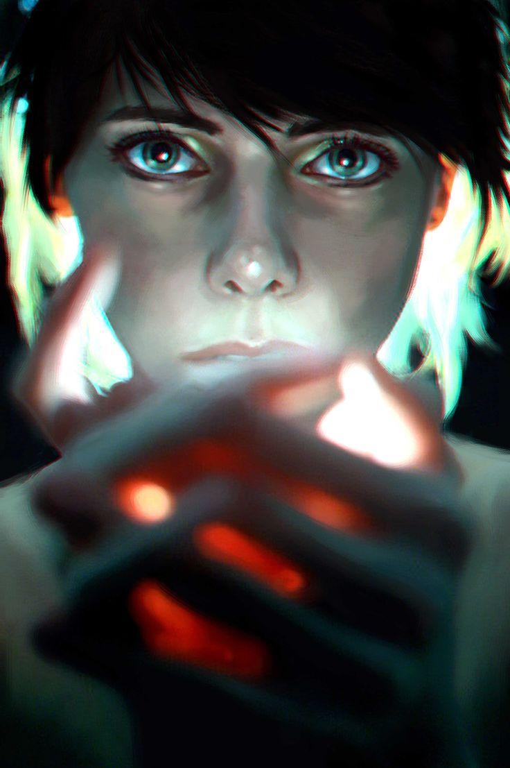 Ateş Böceği / Glowworm by Onur Yürek - Dijital Sanat / #Digitalart - 27x41  #sanat #baskı #print #mixedmedia #artofvisuals #güzel #gununkaresi #dijital #dijitalbaskı #photoshop #artoftheday #portrait #portre #kadın