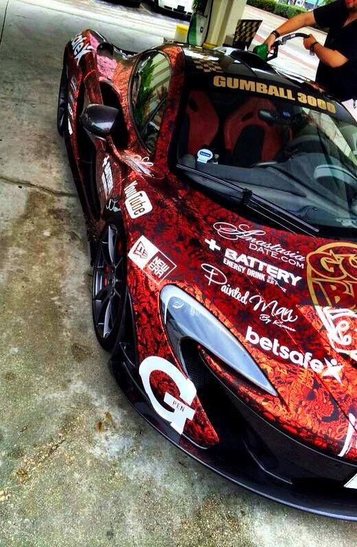 Mc Laren P1 Gumball 3000 Team Galag
