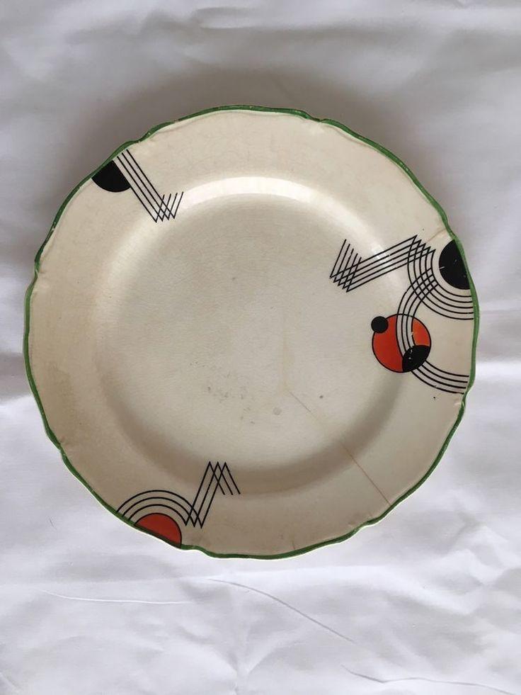 Midwinter Art Deco Side Plate  | eBay