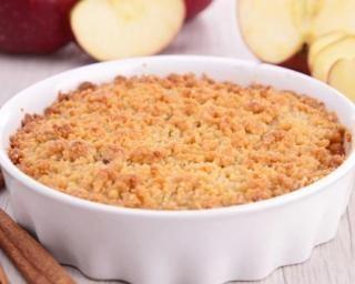 Crumble pomme-poire parfumé à la cannelle : http://www.fourchette-et-bikini.fr/recettes/recettes-minceur/crumble-pomme-poire-parfume-la-cannelle.html
