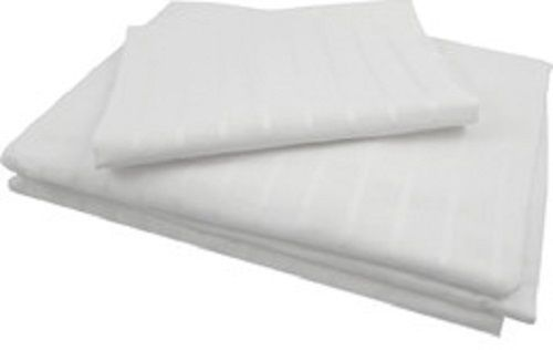 Pure Rest ORGANIC Cotton WHITENED STRIPED SATEEN BED SHEET SET 400 tc All Sizes! #PureRest