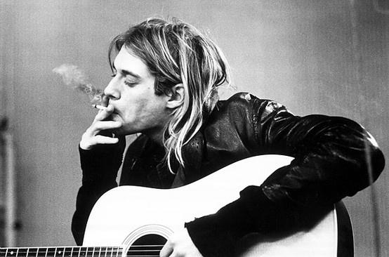 Kurt Cobain is such am inspiration :)