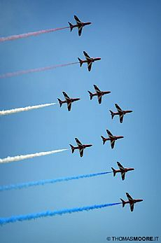 Eastbourne Air Show - Red Arrows