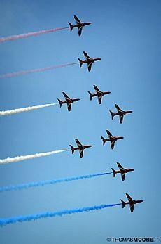 Eastbourne Air Show - Red Arrows