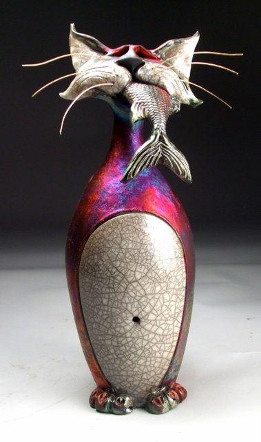 Mitchell Grafton → Escultura de Cerâmica.