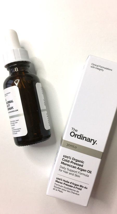 The Ordinary 100% organic Cold Pressed Moroccan Argan Oil review