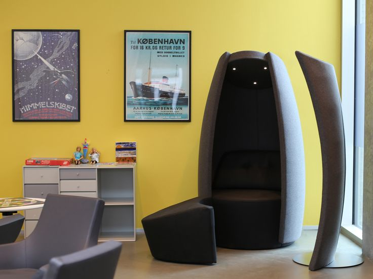 Treatment of psychiatric patients with #music and #tranquility has shown to be very effective. #COCOON by #carstenbuhl.