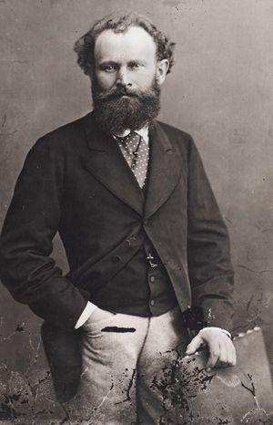 Nadar - Portrait of Manet (1874)