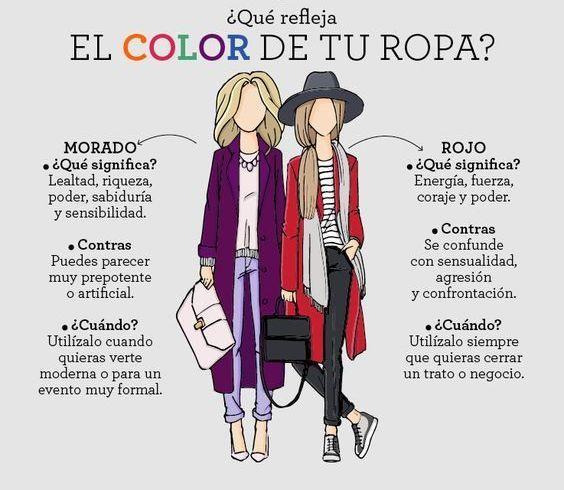 ¿#SabíasQue el #color de tu ropa  pude decir mucho sobre tu #personalidad? Descubre lo que tu #ropa dice de ti.