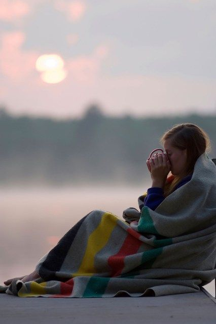 Good morning, We were finally was able to watch the sunrise outside on the deck... So beautiful and peaceful.....