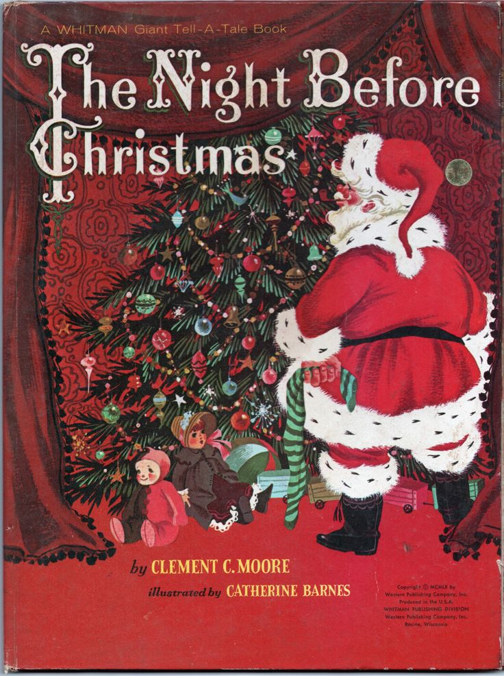The Before Picture My Year Long Beard: 1960 Version Of The Night Before Christmas , Illustrated