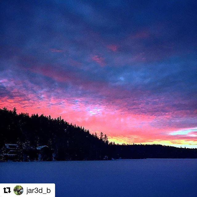 @jar3d_b !!! Amazing shot! #Repost @jar3d_b with @repostapp ・・・ Amazing sunrise over South Tea Lake this morning. That view though. 5 days until Christmas!! #view #algonquinparkig #camptamakwa #outdoors #outdoorsman #nature #sunrise #beaut #nevergetsold #instaoutdoor #instapic #frozen #landscape #landscapephotography #livingthedream #christmascountdown #hoho #holidays