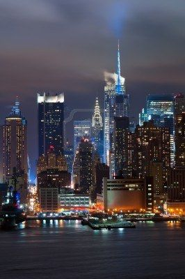 Manhattan, New York City Skyline. Beautiful!