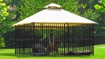 """Canine Castle Kennel - """"The Windsor"""" 10' x 10' x 5'- Complete Set, The World's BEST Dog Kennel"""