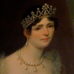 In 1796, Napoleon married Josephine Beauharnais, the widow of an aristocrat who had been guillotined.  On their wedding day, Napoleon was twenty-six and Josephine thirty-two.  His future looked promising; she was bankrupt.  He married for love, she for convenience.  They had a tumultuous life together until 1809 when it became clear she could never provide him with a child.
