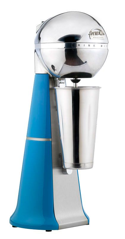 A-2001 Retro Light blue Drink Mixer with inox cup. #lightblue