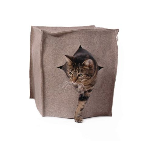 my dog would love this :: Litter Box Cats in Style! - Marly - BijzonderMOOI* Dutch design online