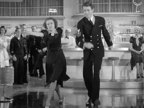 Buddy Ebsen, Eleanor Powell, James Stewart in Born to Dance