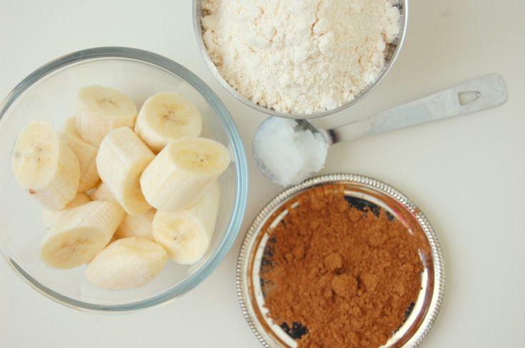 speculaaskoekjes van banaan en kokosmeel