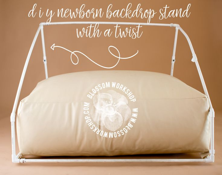 DIY Backdrop Stand :: Newborn Photography We are going to share a tutorial with you on how to create your own backdrop stand for under $20! I know…