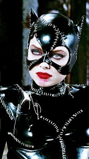 catwoman - Michelle Pfeiffer 1992 she is one of my favorites but Eartha will always be number 1 and Julie Newmar second in my feels and thrills ~~Jenny