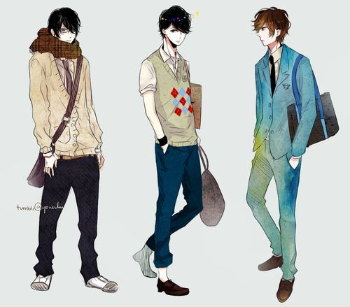 21 best oc male outfits images on Pinterest | Anime guys ...