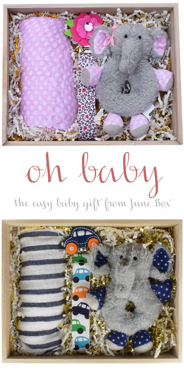 Baby Gift Ideas To Send : Ideas about baby gift box on