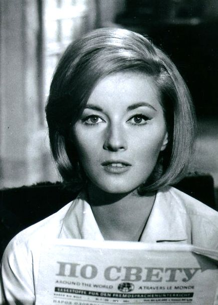 "<0> Daniela Bianchi in the 1963 James Bond film ""From Russia with Love,"" the second James Bond film made by Eon Productions and the second to star Sean Connery as the fictional MI6 agent James Bond. Read Bond articles at: http://www.whattravelwriterssay.com/multicountrytravelindex.html"