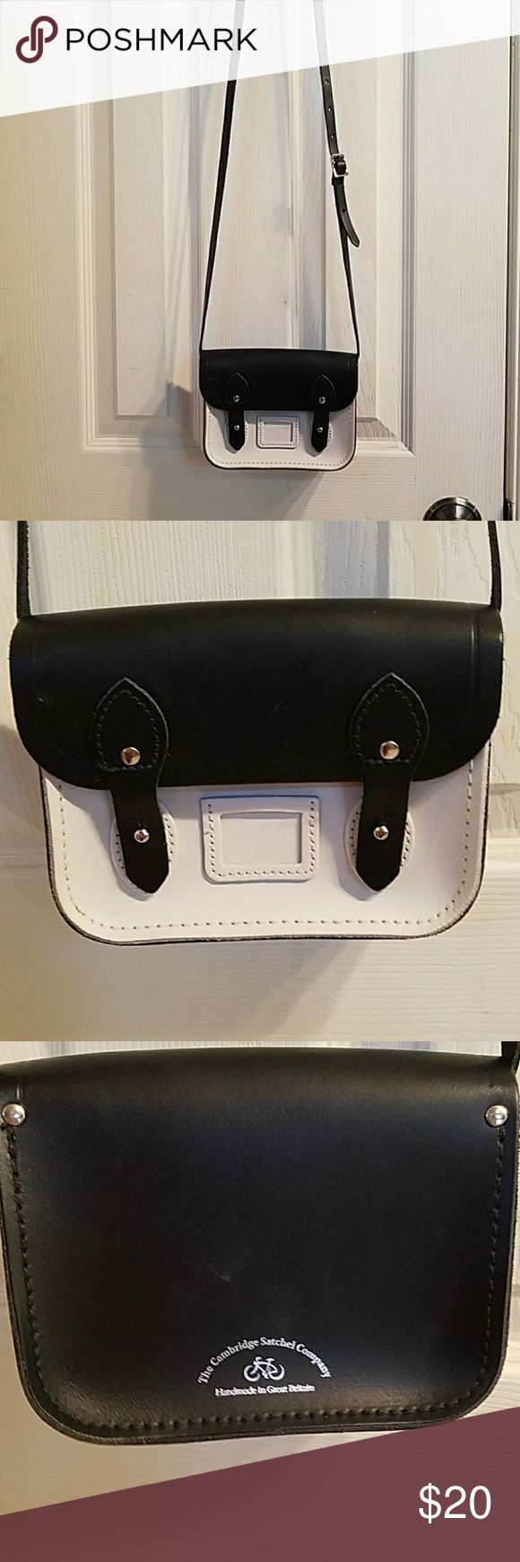 Cambridge Satchel company small crossbody bag Small crossbody bag by Cambridge Satchel company all leather excellent condition measures 5 by 7 inches Cambridge Satchel Bags