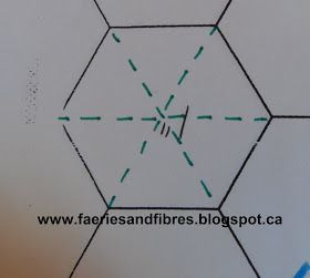 The hexagon…..a simple six side shape with all kinds of possibilities! The six sides are equilateral. I'm not a math genius but I know tha...