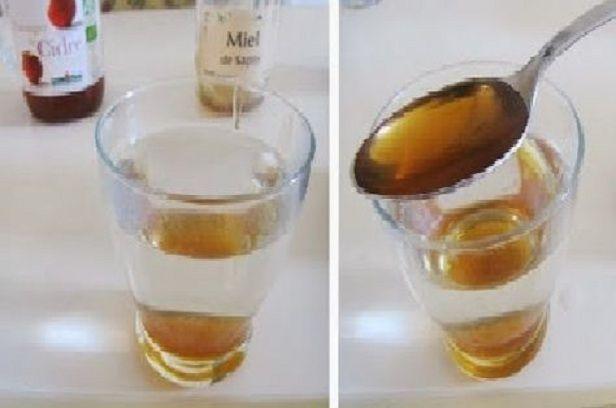 Miel et vinaigre de cidre combinaison magique pour