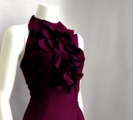 plum silk dress: Favorite Style, Silk Dresses, Silk Gowns, Silk Ruffles, Dinners Dresses, Plum Silk, Divine Colorsvioletshad, Divine Colors Violets Shad, Purple Ruffles